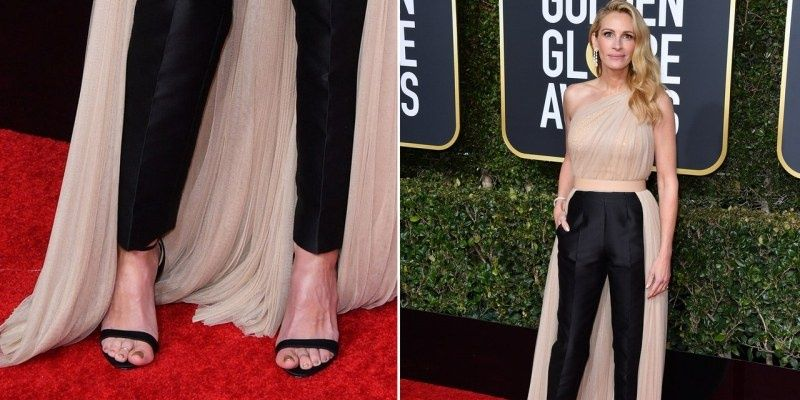 Best and Worst Dressed Celebs at the 2019 Golden Globes Most Undecided Julia Roberts in Stella McCartney