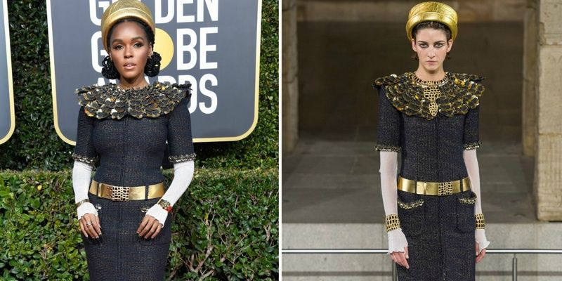 Best and Worst Dressed Celebs at the 2019 Golden Globes Janelle Monáe in Chanel