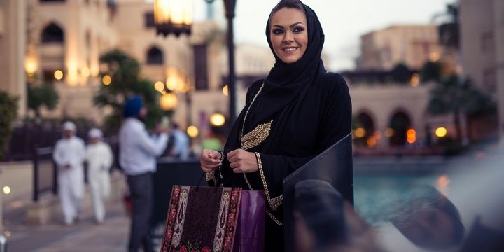 4 Things Arabian Women Are Not Allowed to Do They cannot try on clothes when shopping