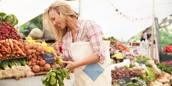 7 Great Spring Tips from Fitness Experts Drop by the organic supermarket