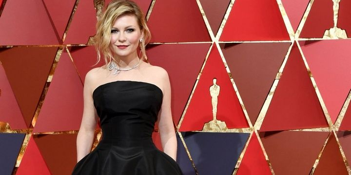 The 6 Most Beautifully Dressed Celebrities at the 2017 Oscars Kristen Dunst