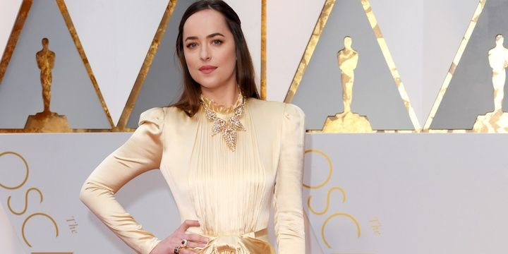 The 6 Most Beautifully Dressed Celebrities at the 2017 Oscars Dakota Johnson