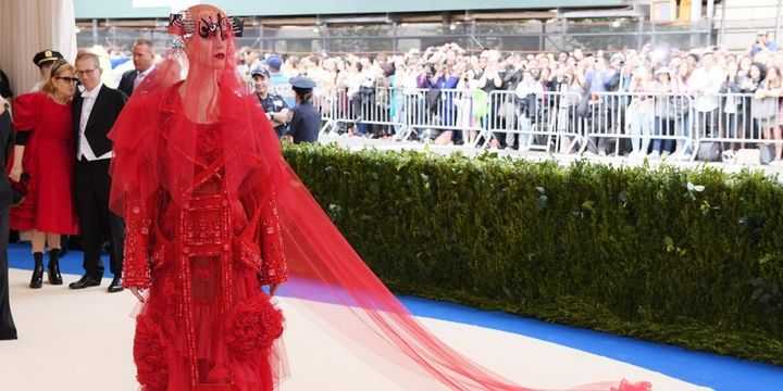 Who Chose to Look Avant Garde during the Met Gala 2017 Katy Perry