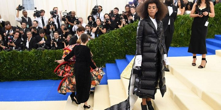 Who Chose to Look Avant Garde during the Met Gala 2017 Solange Knowles