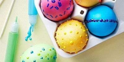7 Original Ways of Decorating Easter Eggs