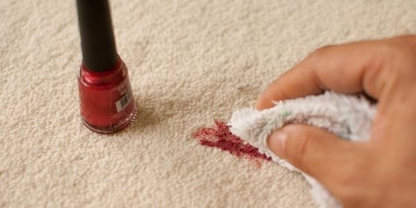 Removing Nail Polish Off Various Surfaces